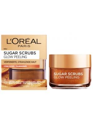 L'Oreal Paris Sugar Glow Peeling Scrub For Face & Lips - 50ml