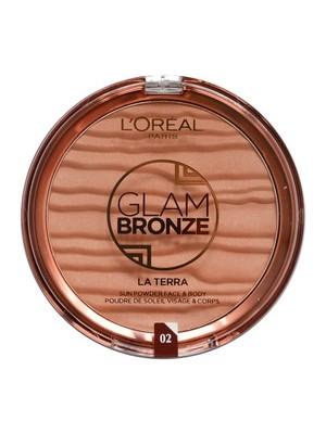 L'Oreal Glam Bronze Le Terra Bronzing Powder - 02 Capri-Naturale