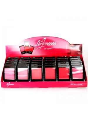La Femme Blusher Tray (Assorted Shades)