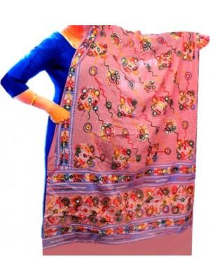 Wholesale Ethnic Dupatt Aari Embroidery & Foil Mirrors Dupatta