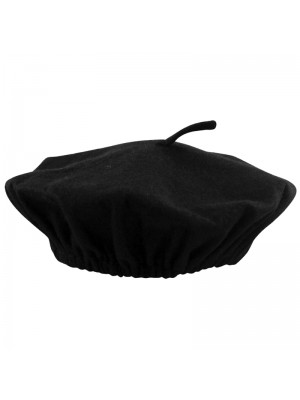 Ladies Beret Hats - Black