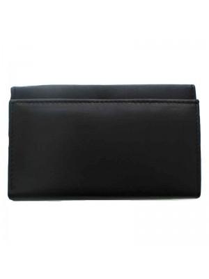 Ladies Bi-Fold Purse Black