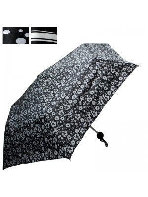 Ladies Compact Umbrella - Assorted Designs