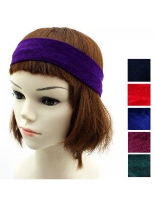 Ladies Fabric Headband - Assorted Colours