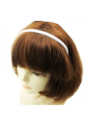 Ladies White Plastic Headband