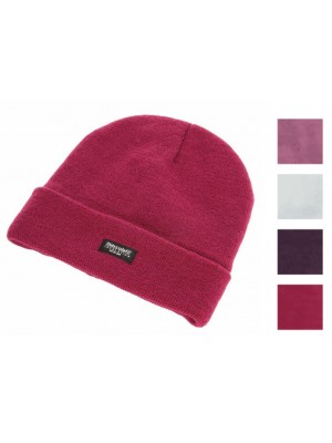 Ladies Knitted Thinsulate Ski Hat - Assorted Colours