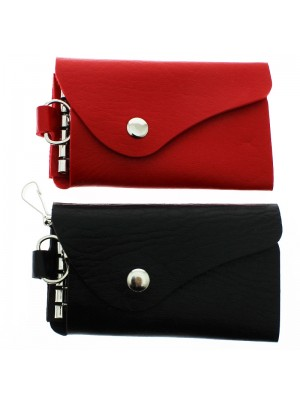 Ladies Leather Key Wallet - Assorted Colours