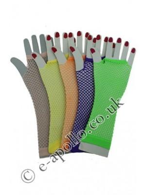 Starter Pack Ladies' Long Fishnet Gloves Assortment