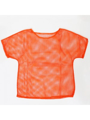 Ladies Mesh Top - Orange