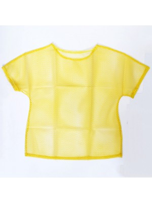 Ladies Mesh Top - Yellow