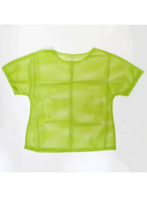 Ladies Mesh Top - Green