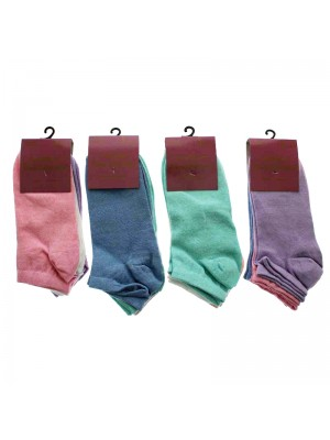Ladies Pamela Anderson Trainer Socks - Assorted Colours