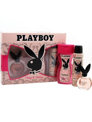Ladies Playboy Perfume Gift Set - Play it Sexy