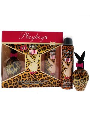 Wholesaler Ladies Playboy Play it Wild Perfume Gift Set
