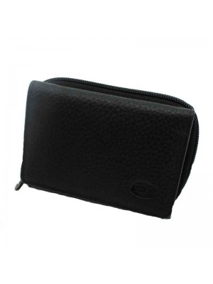 Ladies Purse Genuine Leather Black