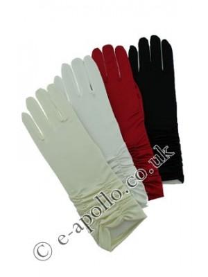 Starter Pack Ladies' Short Ruched Satin Gloves Assortment