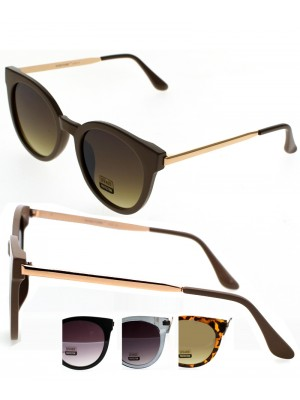 Ladies Wayfarer Sunglasses - Assorted Colours
