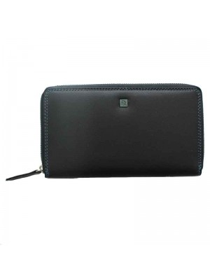 Ladies Forum Zip Around Purse - Black