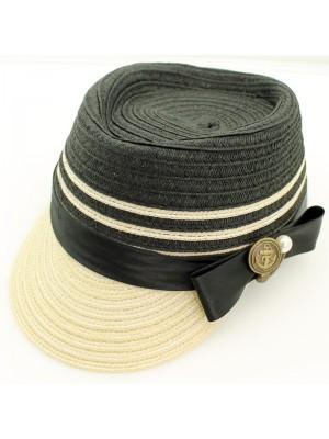 Ladies' Straw Cadet Cap