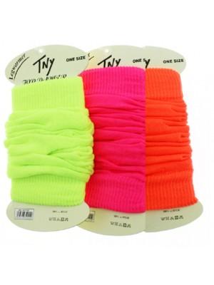 Ladies' TNY Legwarmers - Neon Colours