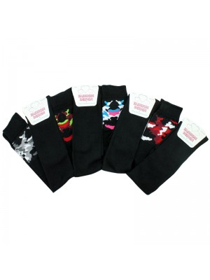 Ladies Fashion Design Over The Knee Socks - Assorted Colours