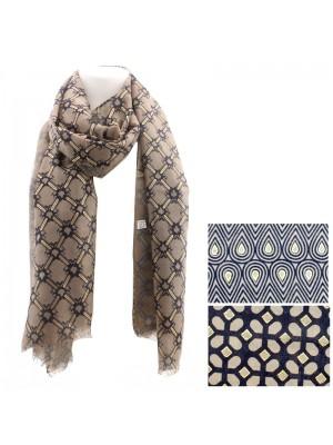 Ladies Fashion Scarves - Assorted Designs