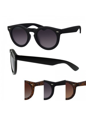 Ladies' Fashion Sunglasses - Pointed Frame (Assorted Colours)