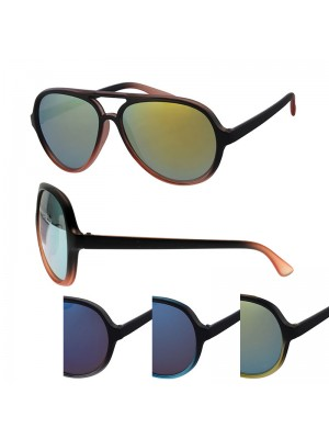 Ladies' Fashion Sunglasses (Double Bridge) - Assorted Colours