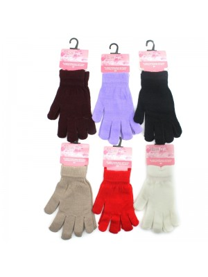 Ladies Fresh feel magic gloves - Assorted colours