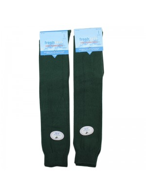 Fresh Feel Over the Knee Socks - Olive