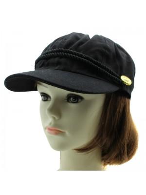 Ladies Nautical Bakerboy Cap - Assorted