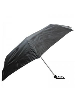Wholesale Ladies Plain Compact Umbrella - Black
