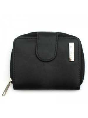 Ladies Small Compact Purse - Black