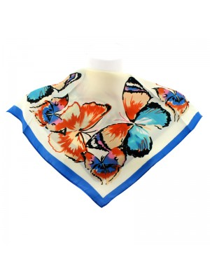 Ladies' Square Scarves - Butterfly Design