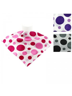 Ladies' Square Scarves - Circle Designs (Assorted Colours)