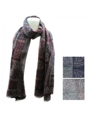 Ladies Vintage Design Scarves - Assorted Colours