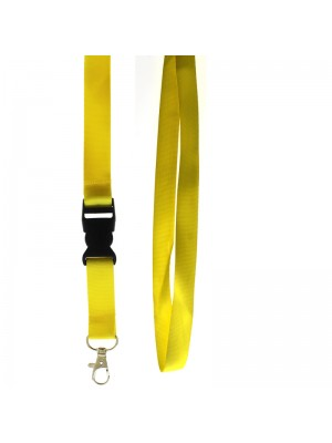 Lanyard With Detachable Clip Assorted Colours