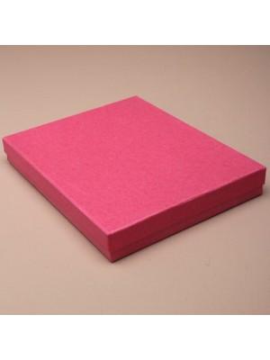 Large Gift Box Fuchsia Pink (18cm x 14cm x 2.5cm)