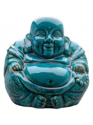 Large Ceramic Buddha Figurine - 28cm