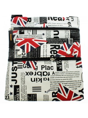 Large Newspaper Crossbody Bag