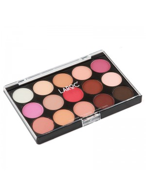 Wholesale Laroc 15 Colour Eyeshadow Palette - Autumn Tones