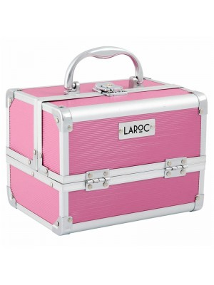 Wholesale Laroc Aluminium Professional Makeup Vanity Travel Case - Pink