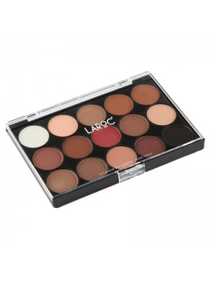 Wholesale Laroc 15 Colour Eyeshadow Palette - 03 Warm Tones