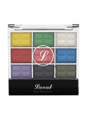 Wholesale Laval 9 Colour Eyeshadow Pallette - Mixed Collection