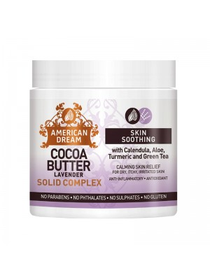 Wholesale American Dream Cocoa Butter Skin Soothing Solid Complex - Lavender (4 oz)