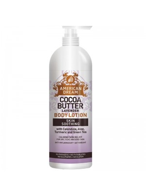 Wholesale American Dream Cocoa Butter Skin Soothing Body Lotion - Lavender (473 ml)