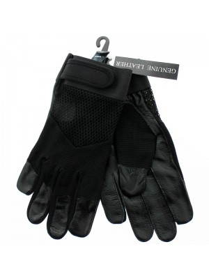 Unisex Leather & Spandex Nylon Driving / Motor Bikers Gloves