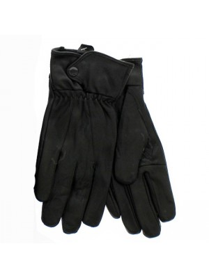 Ladies Boxed Leather Gloves - Black