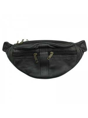 Leather RFID Bum Bag (BB102)