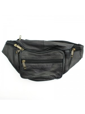 Leather RFID Bum Bag (BB103)